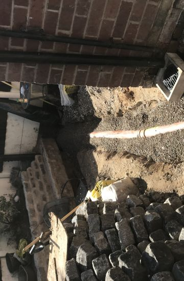 new drainage system installed for our customer in Manchester.